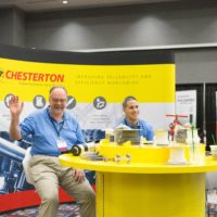 Ron Frisard and Juan Cis @ Chesterton booth